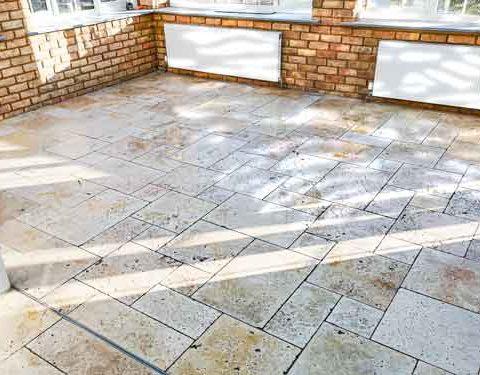 Stone floor tiling in Sittingbourne_prtf