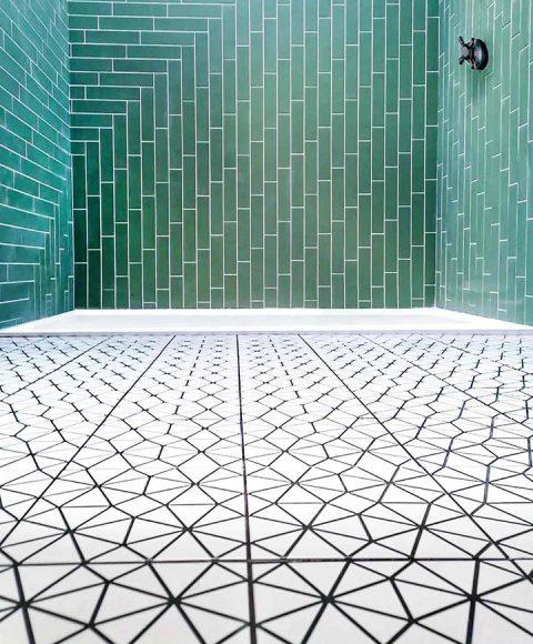 Shower wall and floor tiling Royal Tunbridge Wells